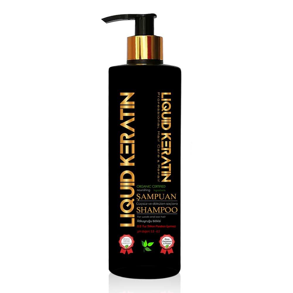 Saç Çıkarıcı Keratin Şampuan (350ml)